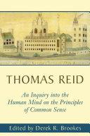 Inquiry into the Human Mind on the Principles of Common Sense [Pdf/ePub] eBook