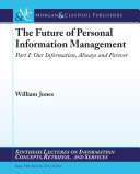 The Future of Personal Information Management, Part 1 [Pdf/ePub] eBook