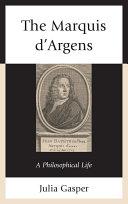 Pdf The Marquis d'Argens Telecharger