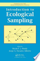 Introduction to Ecological Sampling Book