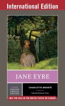 Jane Eyre  Third International Student Edition   Norton Critical Editions