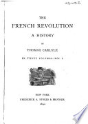 The French Revolution Book PDF