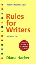 Rules for Writers   Rules for Writers Developmental Exercises