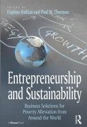 Entrepreneurship and Sustainability