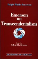 Emerson on Transcendentalism