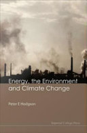 Energy  the Environment and Climate Change