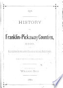 History of Franklin and Pickaway Counties  Ohio