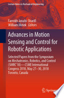 Advances in Motion Sensing and Control for Robotic Applications Book