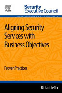 Aligning Security Services with Business Objectives Book