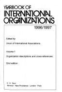 Yearbook Of International Organizations Book PDF