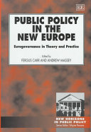 Public Policy in the New Europe Book