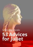 53 Advices for Juliet Pdf/ePub eBook