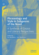 Pdf Phraseology and Style in Subgenres of the Novel Telecharger