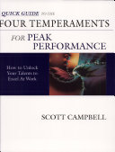 Quick Guide to the Four Temperaments and Peak Performance