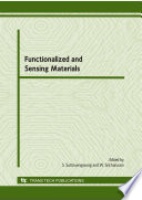 Functionalized and Sensing Materials Book