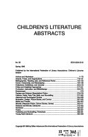 Children's Literature Abstracts