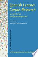 Spanish Learner Corpus Research