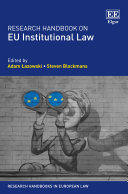 Research Handbook on EU Institutional Law