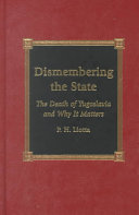 Dismembering the State