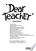 'Dear Teacher'