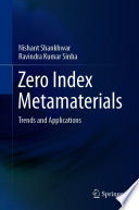 Zero Index Metamaterials Book