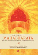The Complete Mahabharata-Vol 08