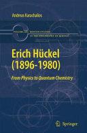 Erich H  ckel  1896 1980