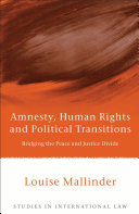 Amnesty, Human Rights and Political Transitions ebook