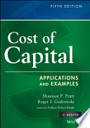 Cost Of Capital Book PDF