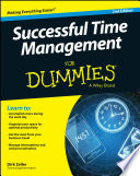 """Successful Time Management For Dummies"" by Dirk Zeller"