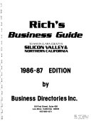 Rich's Business Guide to Santa Clara County's Silicon Valley ...