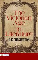 The Victorian Age in Literature [Pdf/ePub] eBook