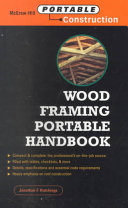 Wood Framing Portable Handbook Book PDF