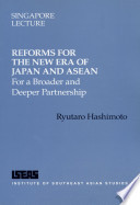 Reforms for the New Era of Japan and ASEAN