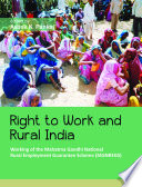 Right To Work And Rural India Book PDF