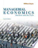 Managerial Economics  Markets and the Firm