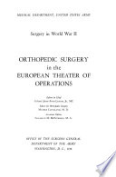 Orthopedic Surgery in the European Theater of Operations Book