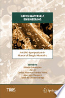 Green Materials Engineering Book