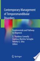 Contemporary Management of Temporomandibular Disorders Book
