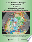 Late Jurassic Margin of Laurasia   A Record of Faulting