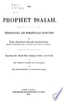 A Commentary On The Holy Scriptures Isaiah