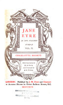 The Works of Charlotte  Emily  and Anne Bront    Jane Eyre
