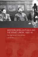 Western Intellectuals and the Soviet Union, 1920-40 Pdf/ePub eBook