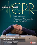 Common Core CPR Pdf/ePub eBook