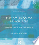 The Sounds Of Language Book PDF