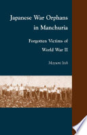 Japanese War Orphans in Manchuria Book PDF