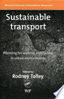 Sustainable Transport Book PDF