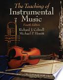 Teaching of Instrumental Music Book