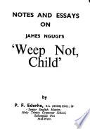 Notes and Essays on James Ngugi's