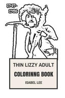 Thin Lizzy Adult Coloring Book